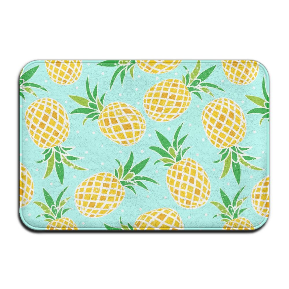 Amazon.com : Pineapple Non-Slip Entrance Indoor Outdoor Front Door ...