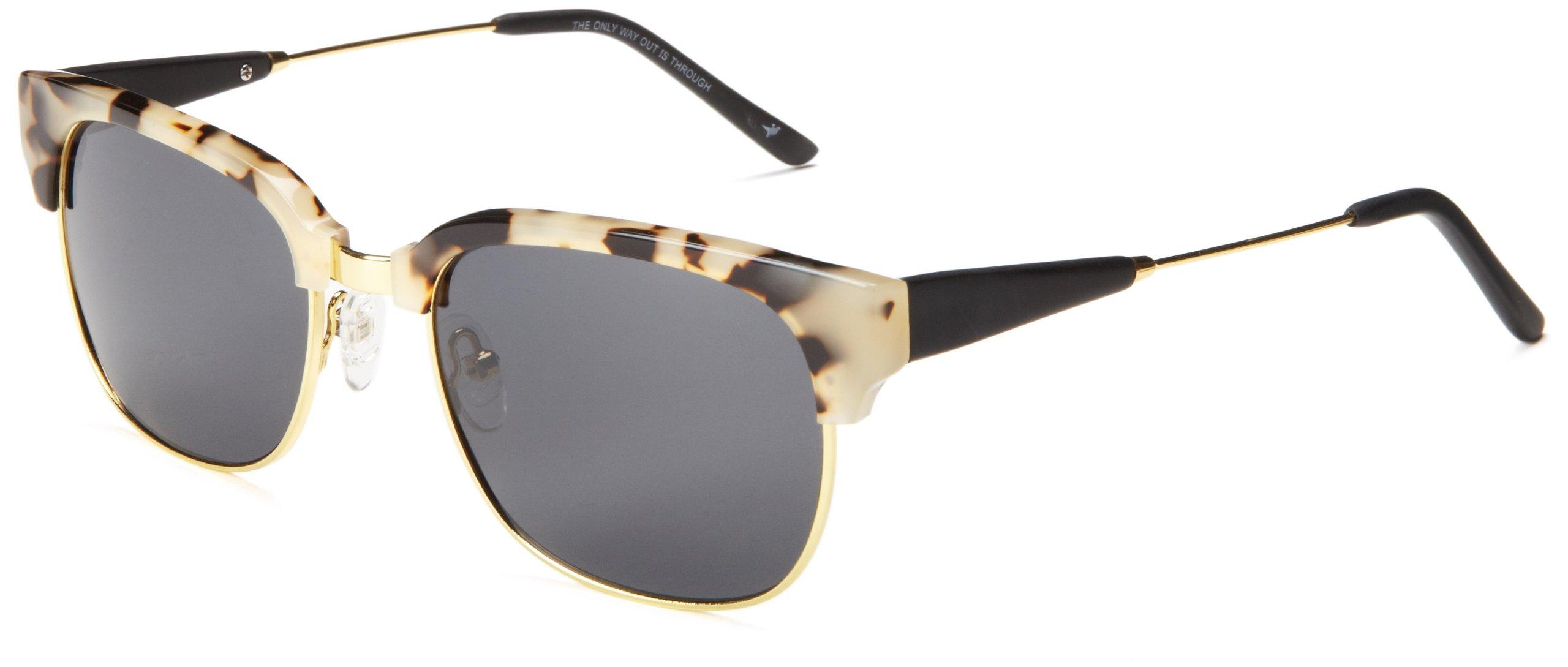 Proof Eyewear Unisex Ontario Pear Skate Wood Sunglasses Handcrafted Water Resistant,  Snow Tortoise,  54 mm