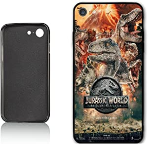 Jurassic Case World 2 Case for iPhone 7 iPhone 8,PC Material Hard Case Never Fade