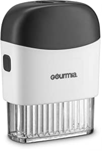 Gourmia GMT9365 Meat Tenderizer –48 Professional Food-Grade Blades with Clear Base – Detachable Compartments for Easy Cleaning, Ergonomic Grip – Helps Reduce Cooking and Marinating Time