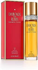 Elizabeth Taylor Diamonds and Rubies Eau de Toilette Spray for Women, 100ml (119938)