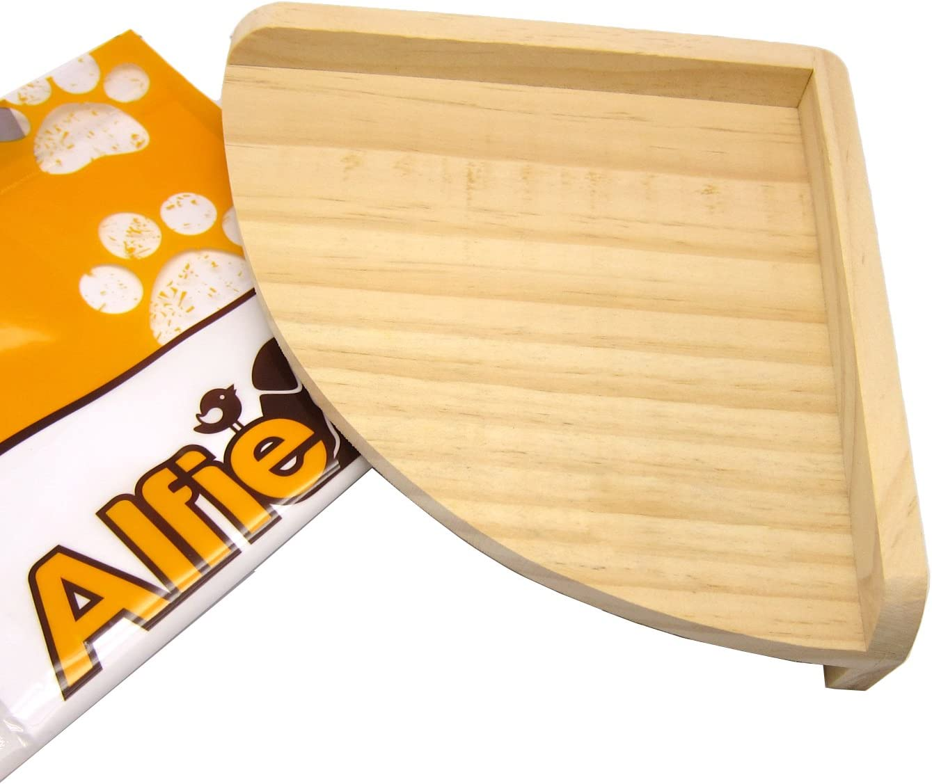 Alfie Pet - Nick Wood Corner Platform for Mouse, Chinchilla, Rat, Gerbil and Dwarf Hamster