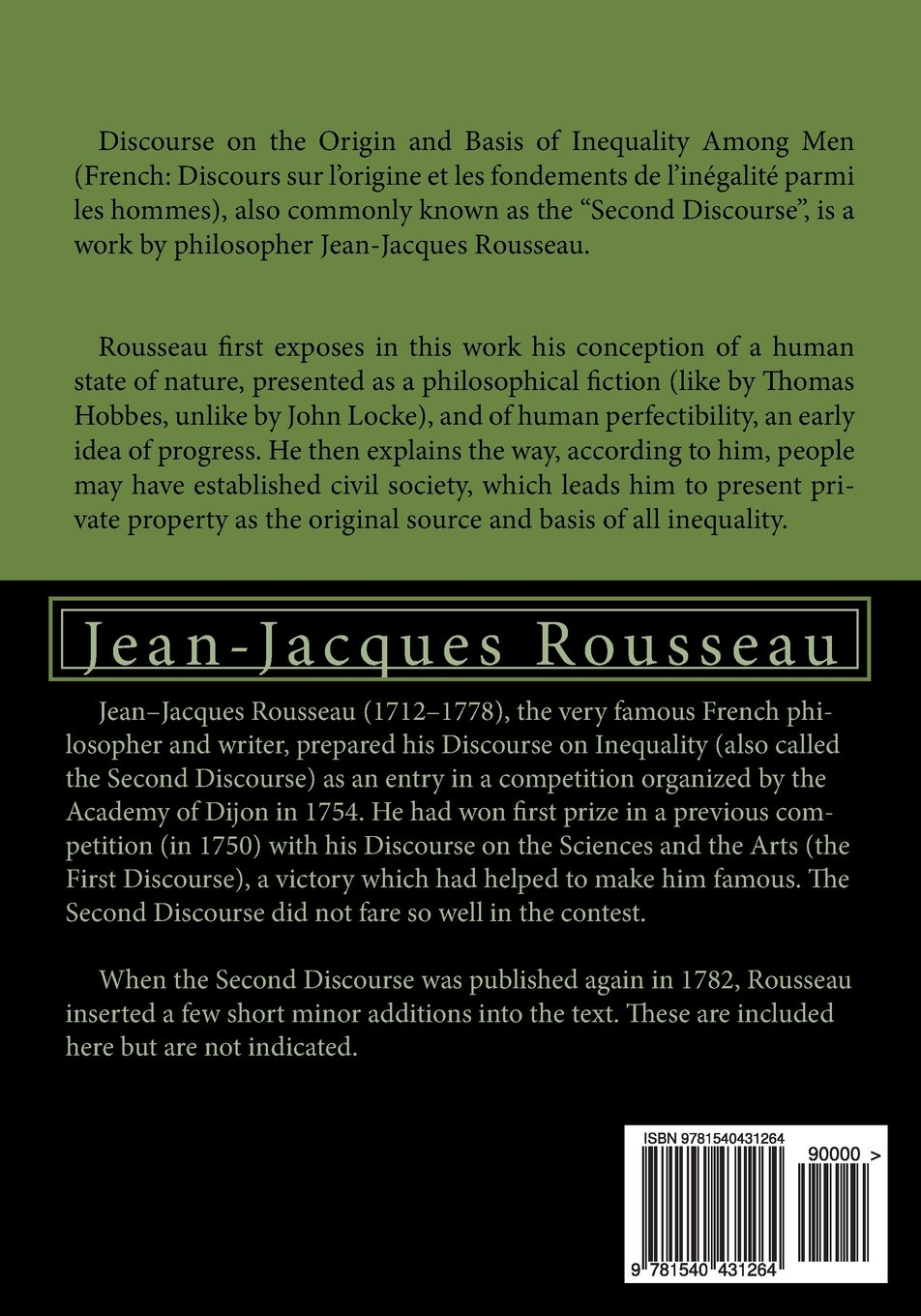 jean jacques rousseau state of nature