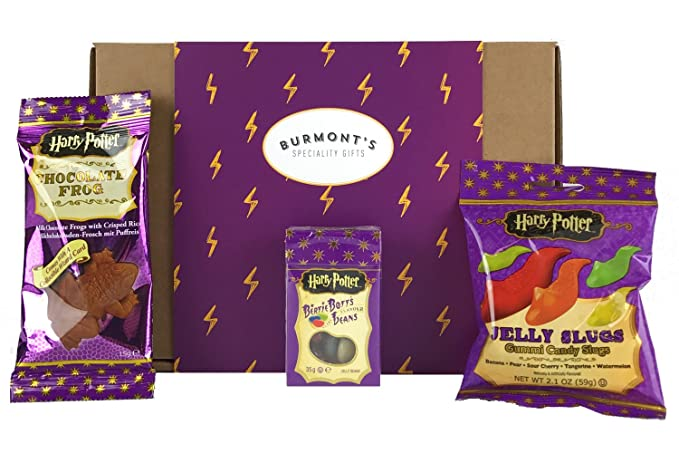 2 opinioni per Harry Potter Sweets & Chocolate American Selection Box- Chocolate Frog, Jelly