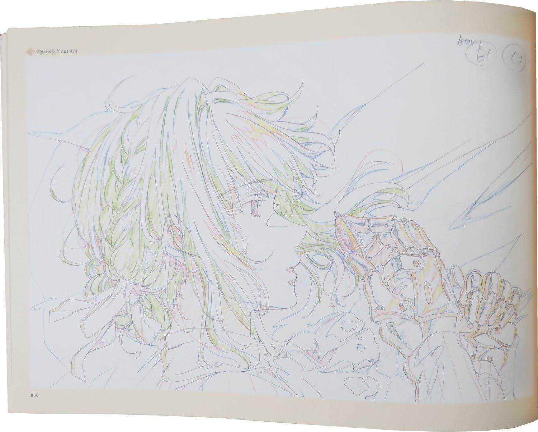 Pre order Violet Evergarden Storyboard vol.1 Art Book Kyoto Animation Japan