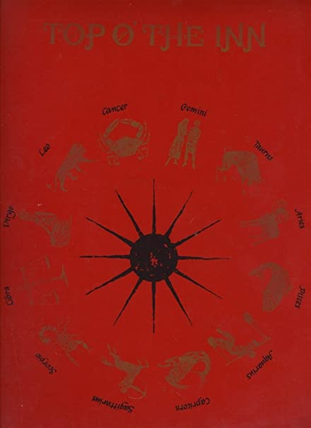 Amazon com : Top O' The Inn Menu El Paso Texas 1972 Zodiac