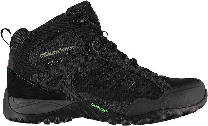 Karrimor Mens Helium WTX Walking Boots Black UK 11 (45): Amazon.co.uk: Shoes & Bags