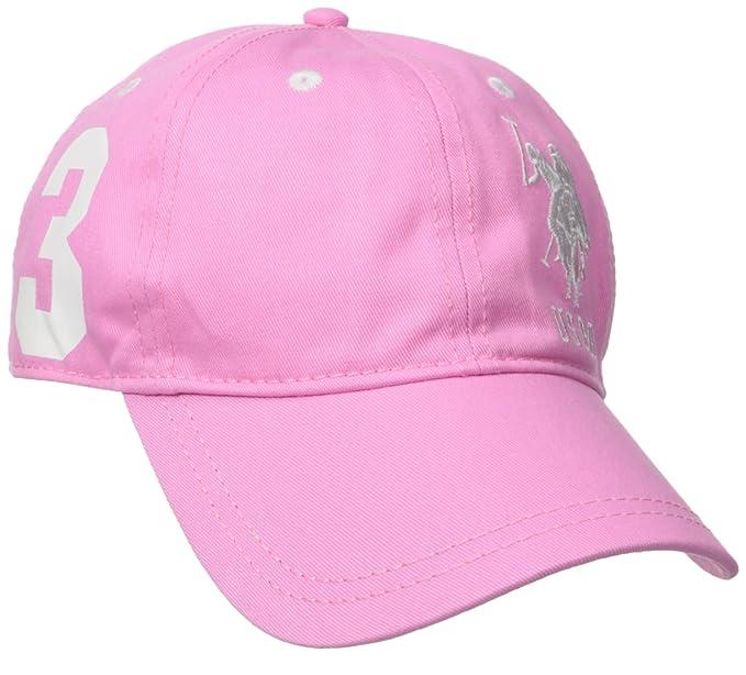 U.S. Polo Assn. Women s Number Three Baseball Hat 6645c16156da