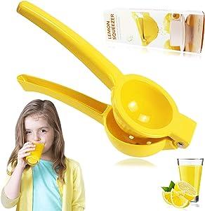 Manual Juicer Citrus Lemon Squeezer Press, Hand Juicer For Kitchen, Metal Fruit Lime Squeezer