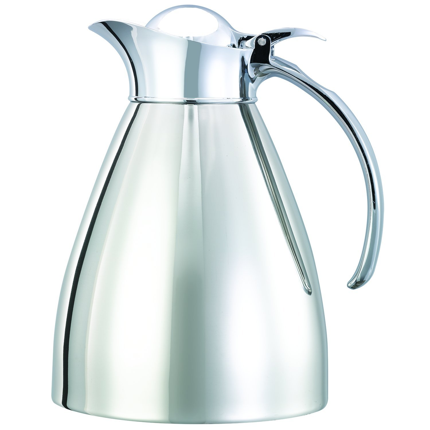 Service Ideas 982C10 Carafe, Stainless Steel, Polished, 1 L