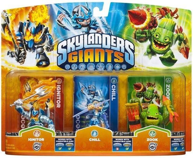 ACTIVISION Skylanders Giants: Triple Pack B: Amazon.es: Videojuegos