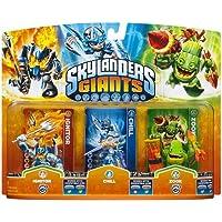 Skylanders Giants - Triple Character Pack - Chill, Zook, Ignitor (Wii/PS3/Xbox 360/3DS/Wii U) - [Edizione: Regno Unito]