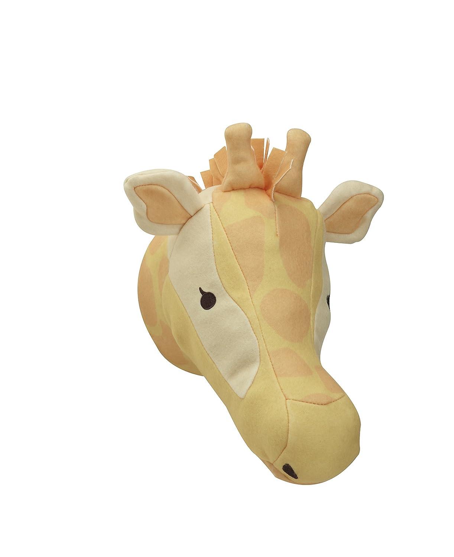 Amazon.com : NoJo Zoobilee Plush Head Wall Decor, Giraffe : Baby