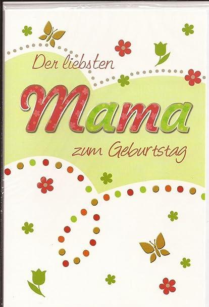 Geburtstagskarte Schreiben Mama.Geburtstagskarte Der Liebsten Mama Alles Gute Zum Geburtstag