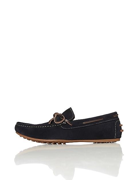 FIND Mocasines de Ante estilo Naútico para Hombre: Amazon.es: Zapatos y complementos