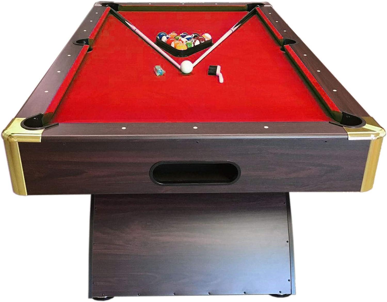 Mesa de billar juegos de billar pool 7 ft NAPOLEONE ROJO Carambola Medición de 188 x 94 cm Nuevo Embalado Disponible: Amazon.es: Juguetes y juegos