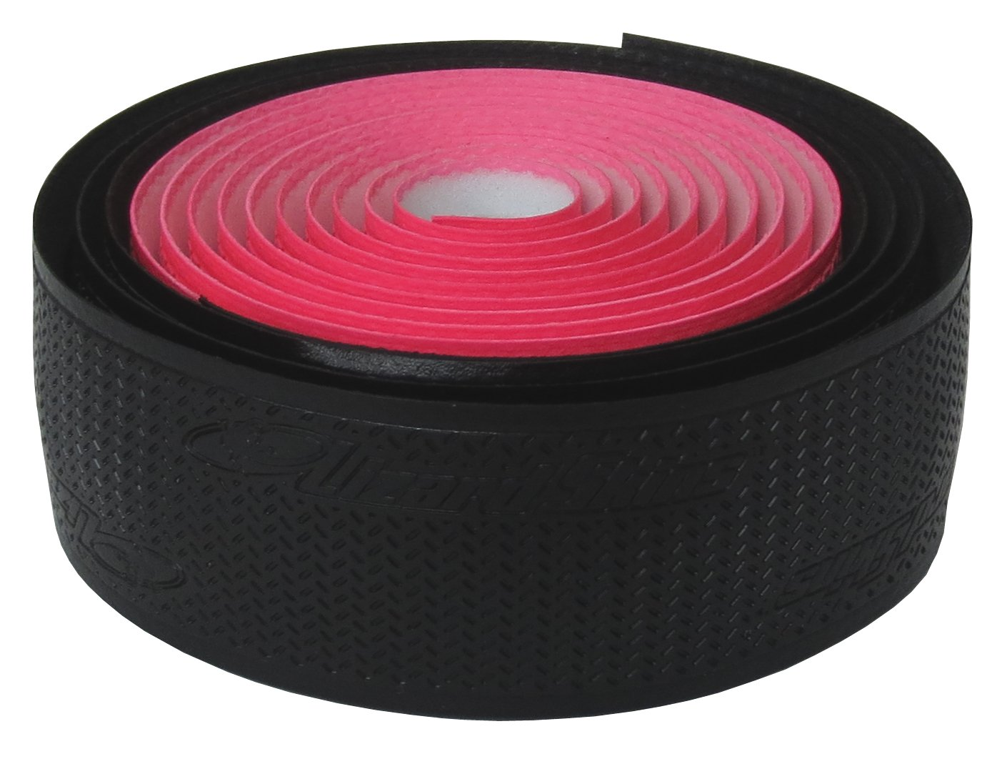 Lizard Skins DSP 2.5mm Dual Handlebar Tape - Black / Neon Pink by Lizard Skins