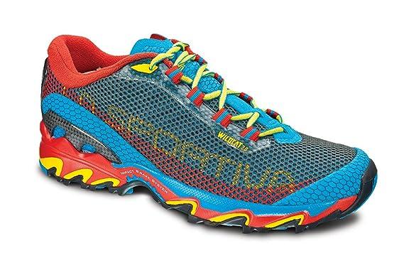 9a9f6a1cd La Sportiva Wild Cat 3.0 – Scarpe per trail running da uomo, colore: giallo  / nero, blu - blu: Amazon.it: Sport e tempo libero