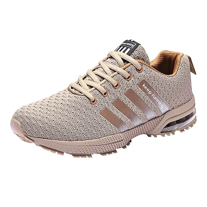 Amazon.com | Mysky Fashion Men Casual Camouflage Print Breathable Mesh Sneaker Men Simple Student Running Sport Shoes | Shoes