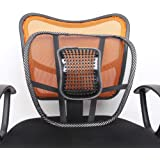 Zagmagat 2017 Car / Chair Seat Back Rest With Mesh Support (New Edition) - Car Seat, Office Chair Support Set Of 2