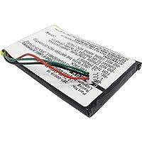 WorldGen Batterie de Remplacement PD2430 110mAh pour GPS Garmin Edge 20 et 25