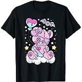 Kawaii Pastel Goth Cute Creepy Bear T-Shirt