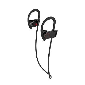 Deportes auricular Bluetooth Potable sumergible auricular inalámbrico de banda para el cuello en la oreja deportivas