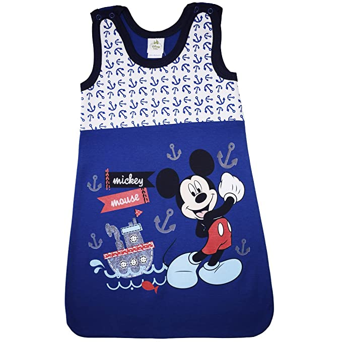 Disney - Mickey Mouse - Saco de dormir - para bebé azul 68-74 cm: Amazon.es: Ropa y accesorios