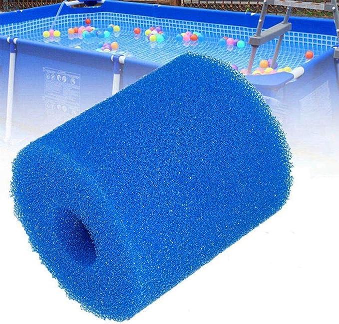 SYANO H - Cartucho de filtro de esponja, reutilizable y lavable, para filtros de piscina Intex tipo H, 3 unidades.