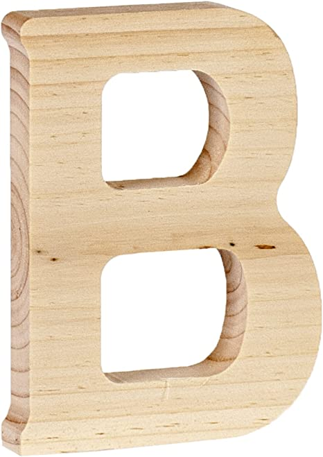5 x 0.63 Walnut Hollow 262WH-26234 Wood Letter C