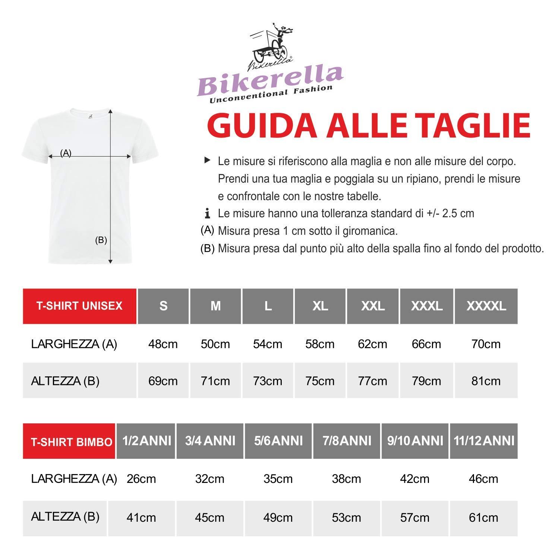 Bikerella T-Shirt Manica Corta Donna Minions Appesi By