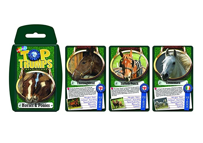 Amazon.com: Animals Top Trumps Card Game: Toys & Games