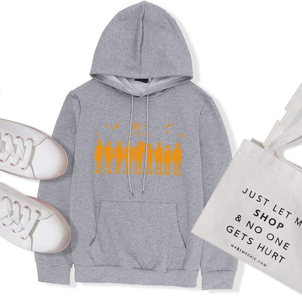 Xingjue Hoodies for Women,Haikyuu Printed Hoodie,Black Hoodie,White Hoodie