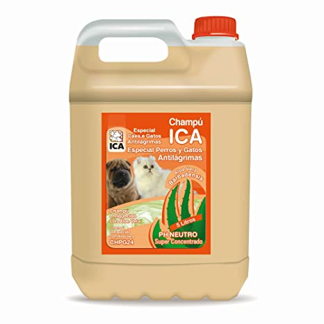 : Amazon.com: ICA chpg24 Shampoo Anti Tears with Aloe Vera for Dogs and Cats