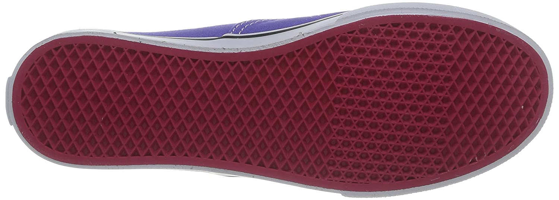 Vans Authentic B00L5MVZ7O 5.5 M US Women / 4 M US Men|Purple Iris/Rose Red