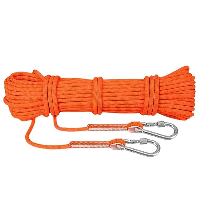 Cuerda para Escalada con Mosquetón Cuerda de Paracaídas de Fibra ...