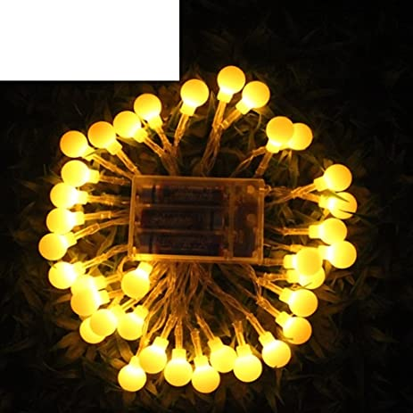 amazon com outdoor led battery light carnival light chain