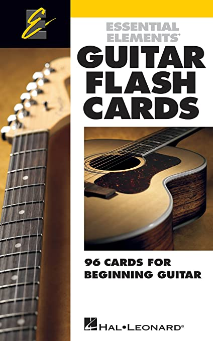 Amazon Essential Elements Guitar Flash Cards 96 Cards For