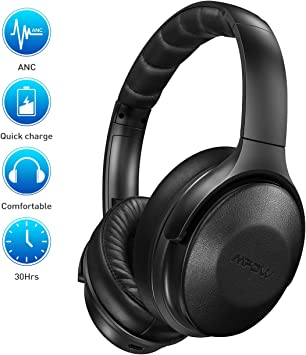Mpow Cascos Diadema Bluetooth: Amazon.es: Electrónica