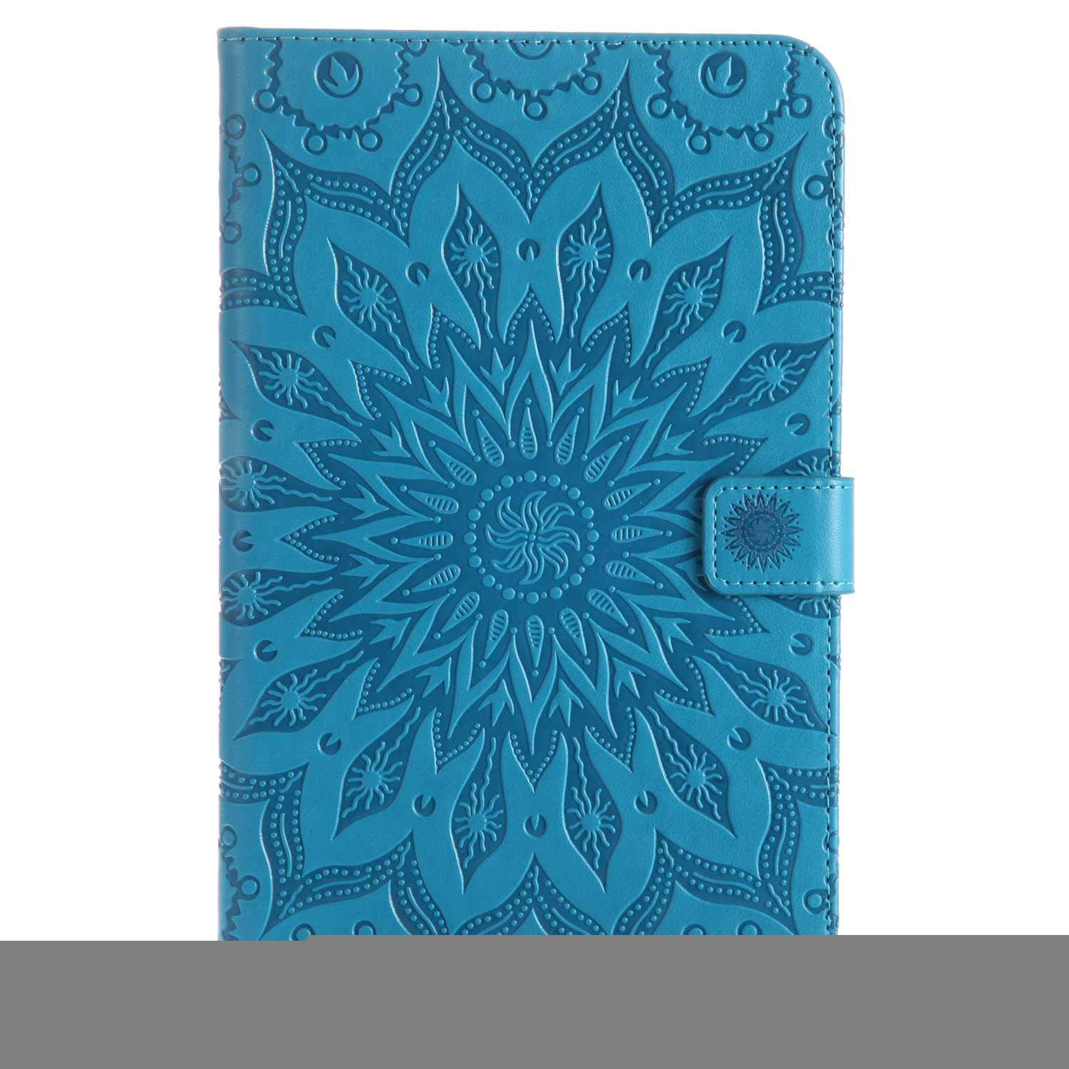 Bear Village Galaxy Tab a 2017 8.0 Inch Case, Anti Scratch Shell with Adjust Stand, Full Body Protective Cover for Samsung Galaxy Tab a 2017 8.0 Inch, Blue by Bear Village
