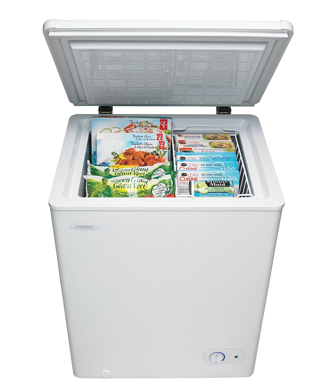 Amazon.com: Danby DCF038A1WDB1-3 Chest Freezer, 3.8 Cubic Feet ...