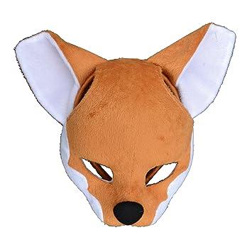 Zoelibat 97231341.004 – Animales Máscara con sonido, máscara en pelo banda, zorro, talla