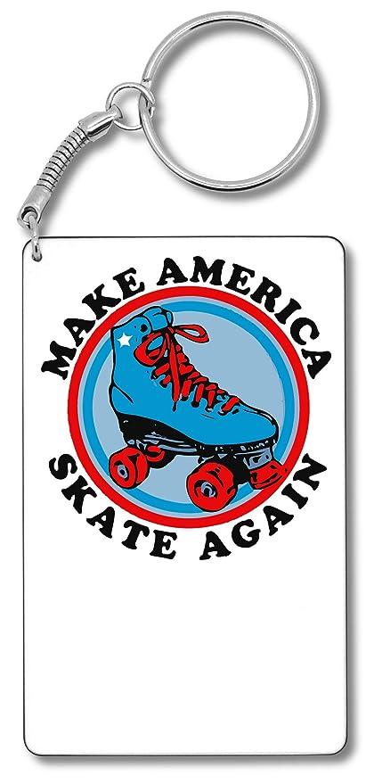 Make America Skate Again Llavero Llavero: Amazon.es: Equipaje