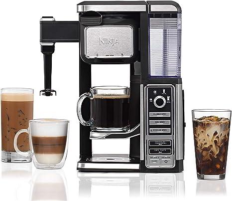 Amazon.com: Ninja - Cafetera sin cápsulas con café caliente ...