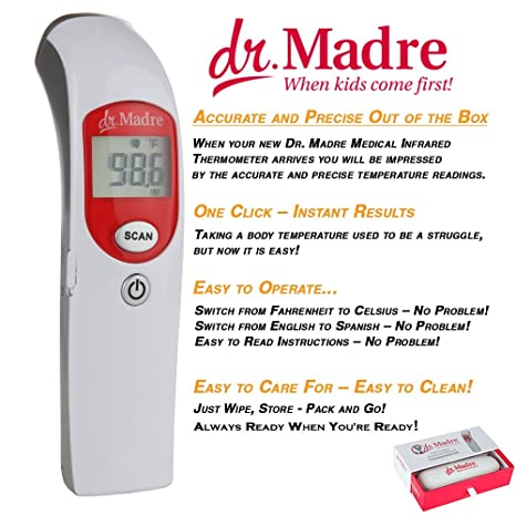 Medical Infrared Thermometer Amazon Prime Talking Non-Contact Thermometer Digital Forehead. Free Shipping Best Infrared Thermometer Baby For Home Pediatric ...
