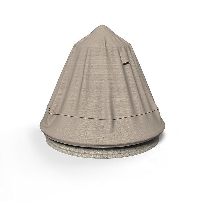 "Budge English Garden Fountain Cover P9A13PM1, Tan Tweed (30""Diameter x 48""High)"