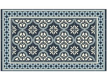 LILENO HOME Vinyl Teppich Küchenvorleger Badmatte Bodenmatte ...