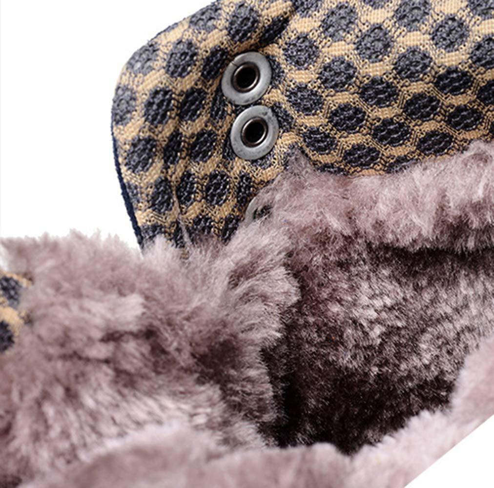 RSHENG Schuhe Stiefel Stiefel Stiefel Für Herren Warm Gefütterte Wanderschuhe Im Freien Leichte Hochgeschlossene Baumwollschuhe 27ee7a