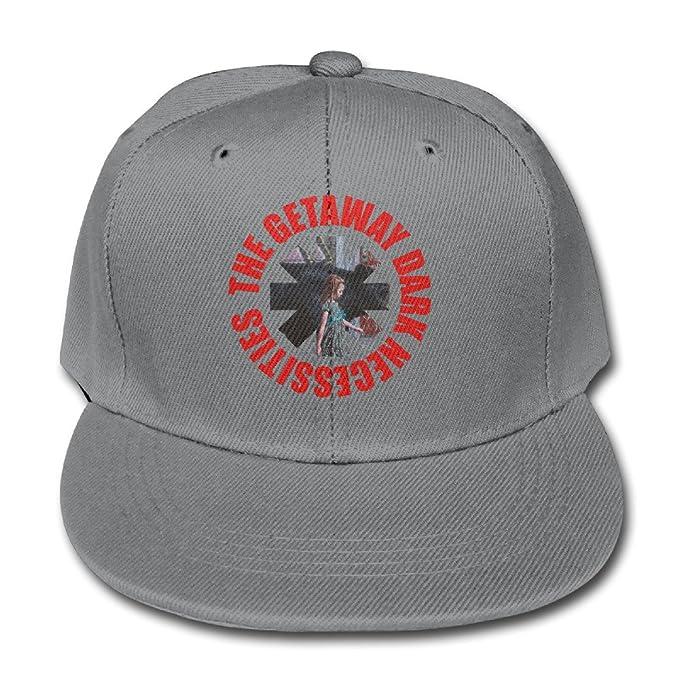 LYYA5T Ash Red Hot Chili Peppers The Getaway Dark Necessities Boys  Adjustable Snapback Trucker Hats 34a5f1d7b573