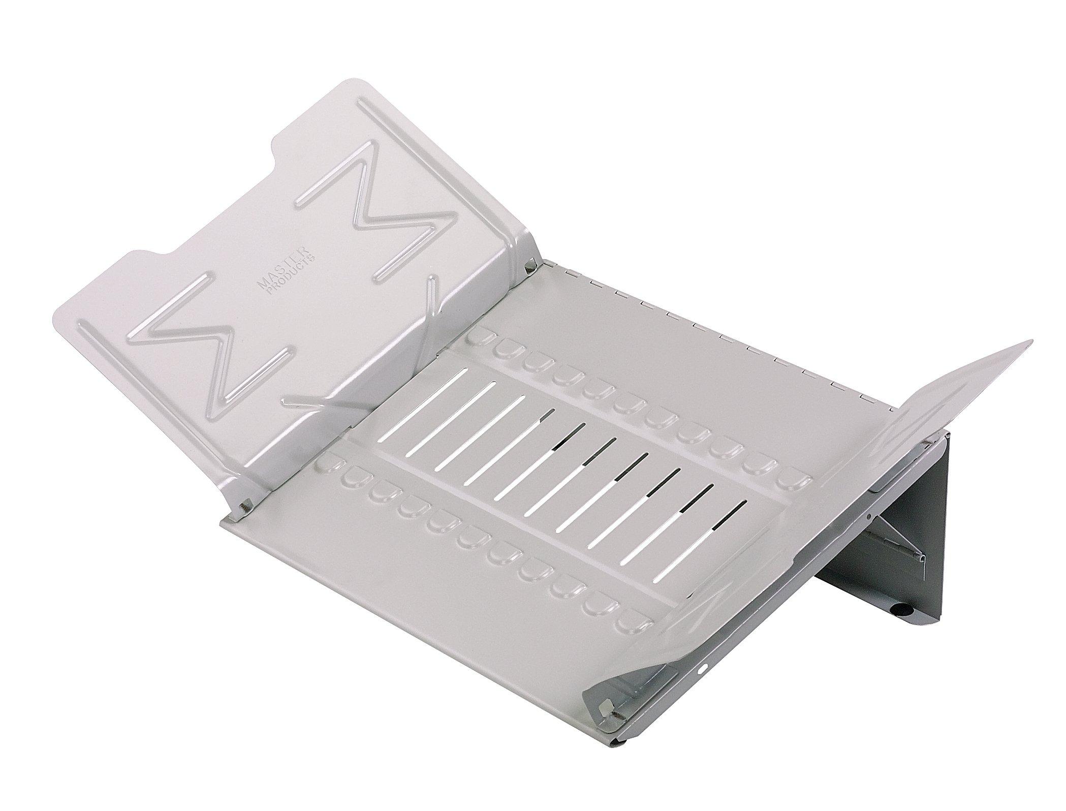 Master Catalog Rack, Organizes and Displays Catalogs/Magazines/Loose-Leaf Materials, Gray (MAT12G)